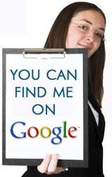 You Can Find Me On Google